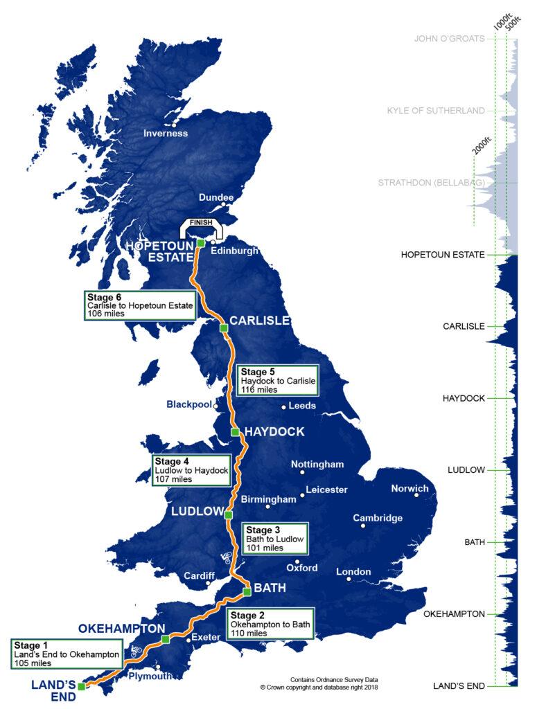 England RAB map